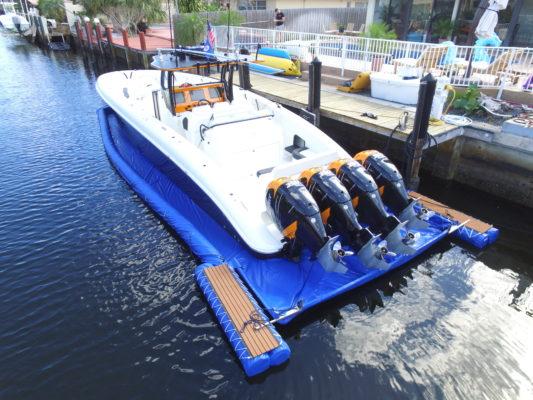 DockyDock Boat Cover